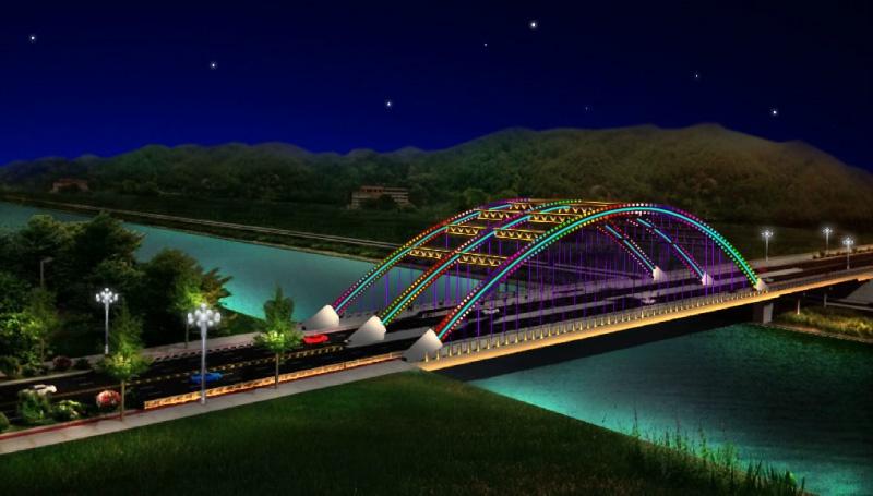 湖南三色彩虹橋
