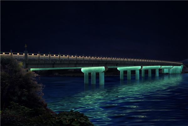 泛光照明/江西户外景观亮化公司/夜景亮化工程/婺源1、2号桥