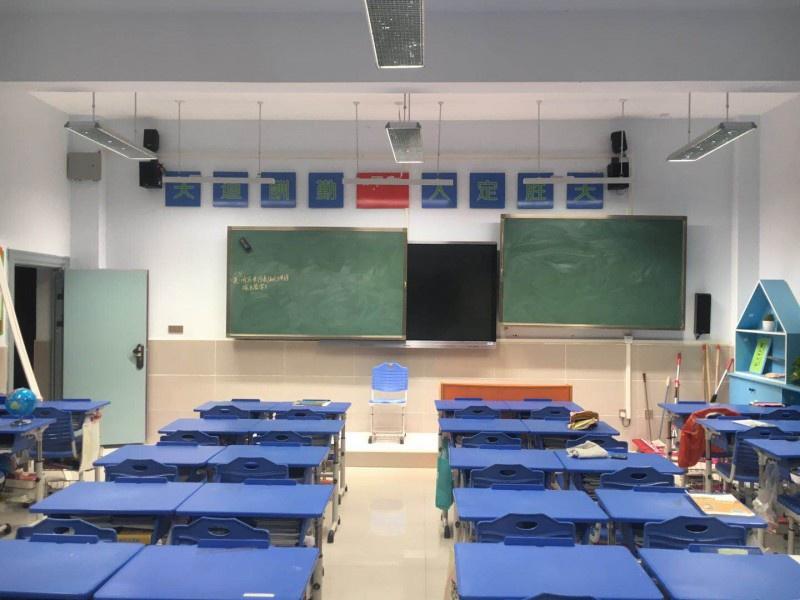 荆门教室照明|教育照明改造|全护眼照明|教室护眼灯